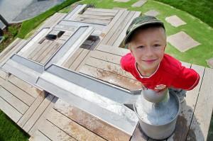 Reportážní fotografie dětí v prostředí