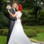 Svatební fotografie exteriér