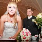 Svatební obřad - reportážní fotografie