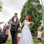 Reportážní svatební fotografie