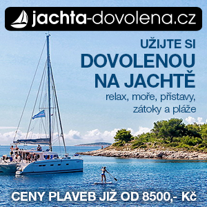 Dovolená na jachtě s kapitánem, plavby na jachtě